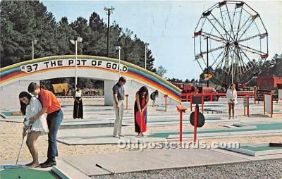 spo013744 - Old Vintage Golf Postcard Post Card