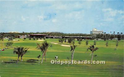spo013750 - Old Vintage Golf Postcard Post Card