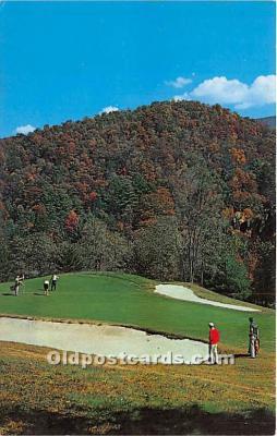 spo013773 - Old Vintage Golf Postcard Post Card