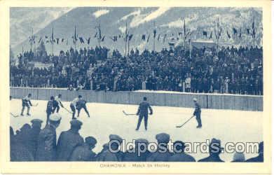spo014004 - Chamonix, Hockey Postcard Postcards