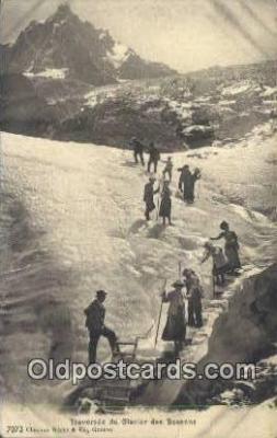 Traverse DU Glacier Des Bossons