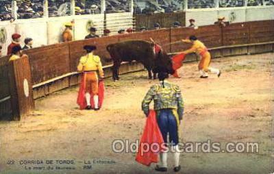 spo017032 - Bullfighting postcards