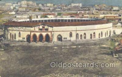 spo017200 - Bull Ring Juarez Mexico, Bull Fighting Postcard Postcards