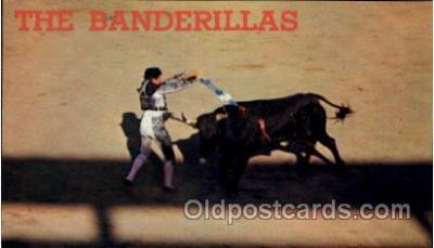 Bullfight in old Mexico