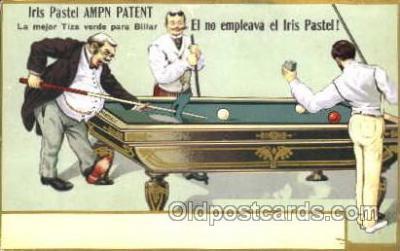 spo018054 - Billiards, Pool Postcard Postcards