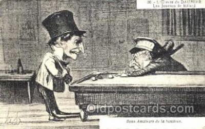 spo018062 - Billiards, Pool Postcard Postcards