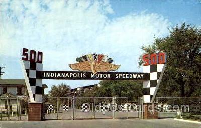 Indianapolis, Ind, Speedway