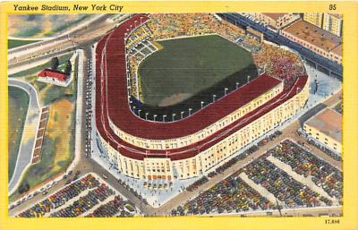 spo023063 - New York Yankess, USA, Base Ball,  Baseball Stadium, Postcard Postcards