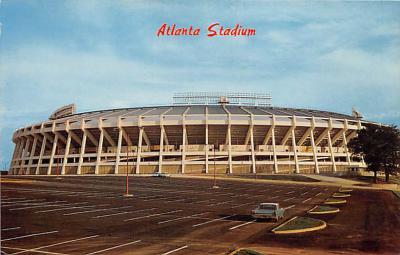 spo023106 - Atlanta Stadium postcard postcards