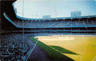 spo023155 - Yankee Stadium, Bronx, New York, USA, Baseball, Base Ball Stadium Postcard Postcards