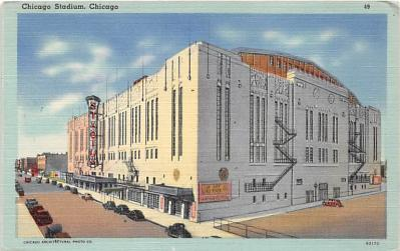 spo023560 - Chicago Stadium, Ill, USA Chicago, Illinois Base Ball Baseball Stadium Postcards Post Card