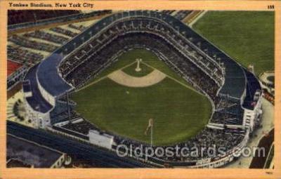 spo023714 - Yankee Stadium New York City, New York Base Ball Baseball Stadium Postcards Post Card
