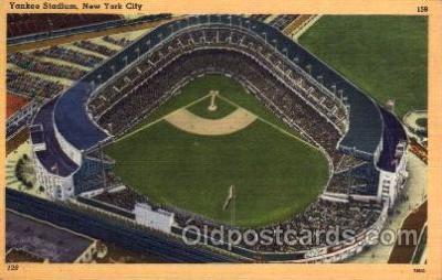 spo023716 - Yankee Stadium New York City, New York Base Ball Baseball Stadium Postcards Post Card