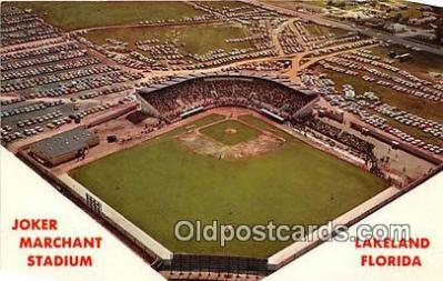 Joker Marchant Stadium, Spring Training of the Detroit Tigers Baseball Stadium Postcard Post Card
