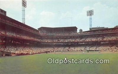 Forbes Field, Pittsburgh Pirates Baseball Stadium Postcard Post Card