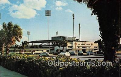 Al Lang Field, St Petersburg Cardinals Baseball Stadium Postcard Post Card