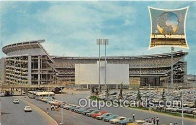 William A Shea Municipal Stadium Baseball Stadium Postcard Post Card