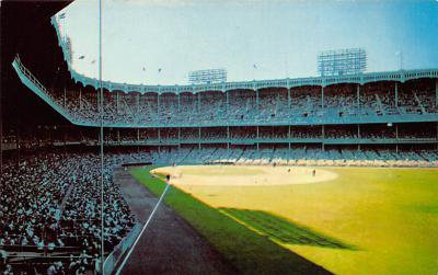 spo023A209 - Yankee Stadium NYC, New York USA Baseball Postcard