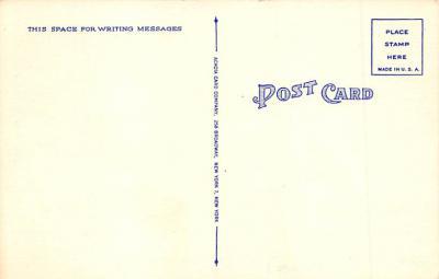 spo023A263 - Yankee Stadium NYC, New York Base Ball Stadium  Post Card Postcard  back