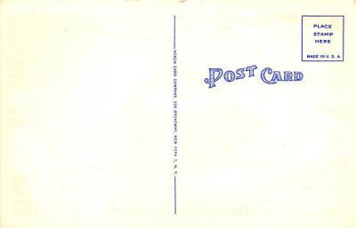 spo023A265 - Yankee Stadium NYC, New York Base Ball Stadium  Post Card Postcard  back