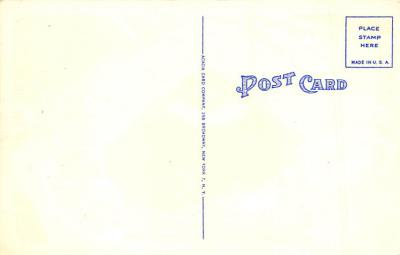 spo023A277 - Yankee Stadium NYC, New York Base Ball Stadium  Post Card Postcard  back