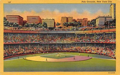 spo023A301 - Yankee Stadium NYC, New York Base Ball Stadium  Post Card Postcard