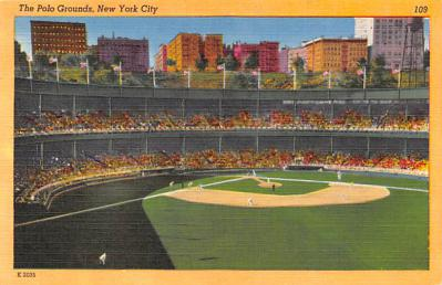 spo023A305 - Yankee Stadium NYC, New York Base Ball Stadium  Post Card Postcard
