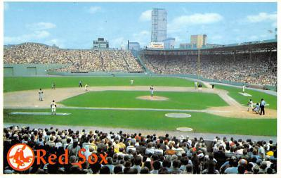 spo023A337 - The Red Sox, Boston, Massachusetts, USA Baseball Stadium Postcard, Post Card
