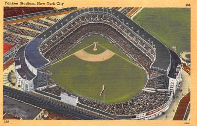 spo023A349 - Yankee Stadium, Bronx, New York City, USA Base Ball Stadium , Post Card