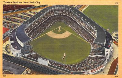 spo023A365 - Yankee Stadium, Bronx, New York City, USA Base Ball Stadium , Post Card