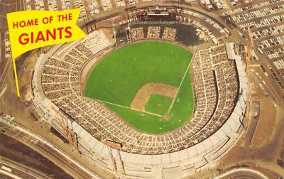spo023A387 - Home of The Giants Candlestick Park San Francisco California USA Baseball Base Ball, Stadium Postcard