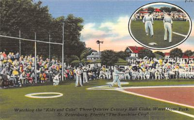 spo023A393 - Water Front Park St Petersburg FL USA Baseball Base Ball, Stadium  Postcard Post Card