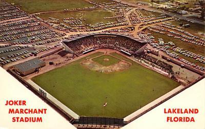 spo023A401 - Joker Marchant Stadium, Spring Training of the Detroit Tigers Baseball Stadium Postcard Post Card