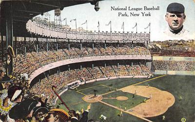 spo023A453 - National League Park Baseball Stadium Postcard Post Card