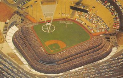spo023A457 - California Angel's Baseball Stadium Postcard Post Card