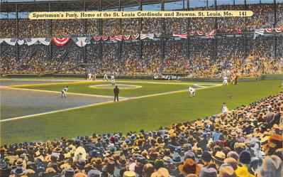 spo023A463 - Sportsman Park, Home of St. louis Cardinals and Browns, St. Louis Mo USA