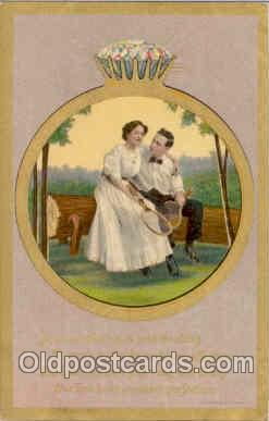 spo024006 - Tennis Postcard Postcards