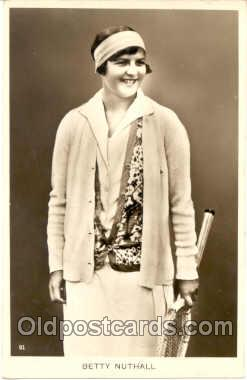 Betty Nuthall