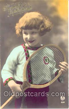 spo024015 - Tennis Postcard Postcards