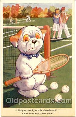 spo024033 - Tennis Postcard Postcards