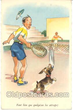 spo024037 - Tennis Postcard Postcards