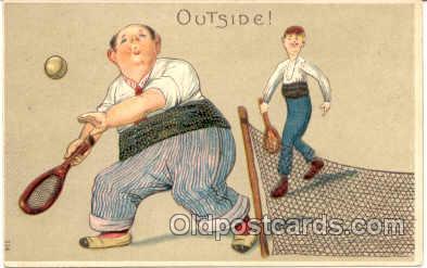spo024104 - Tennis Postcard Postcards