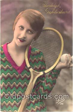 spo024204 - Tennis Postcard Postcards
