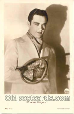 spo024214 - Charles Rogers, Tennis Postcard Postcards