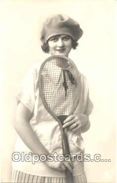 spo024216 - Tennis Postcard Postcards