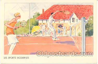 spo024228 - Les Sports Modernes Tennis Postcard Postcards