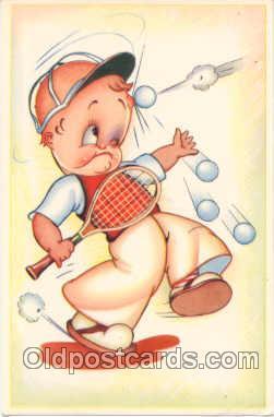spo024247 - Tennis Postcard Postcards