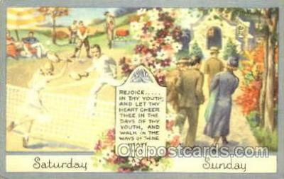 spo024269 - Tennis Postcard Postcards