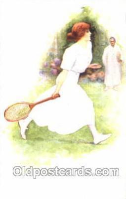 spo024286 - Tennis Postcard Postcards