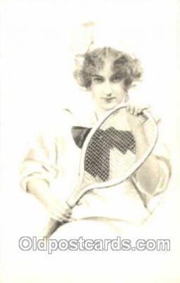 spo024309 - Tennis Postcard Postcards